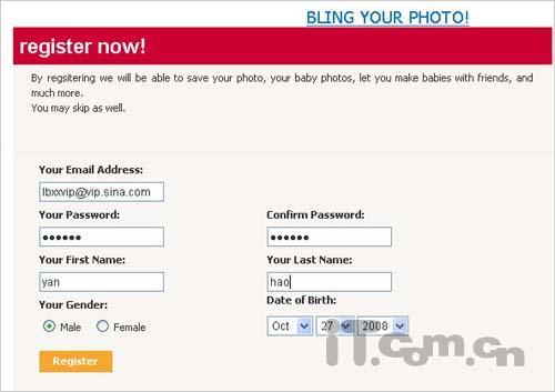 免费!用网站预测你未来宝宝的模样