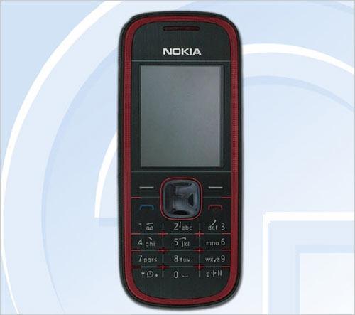 主打FM收音机诺基亚低端手机5030曝光