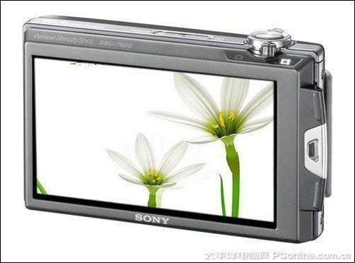 高清时尚卡片相机索尼T500降至1748元