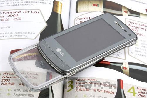透明触控键盘LG滑盖拍照GD900靓丽赏
