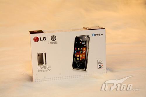 OMS系统LG触屏3G手机GW880开箱赏
