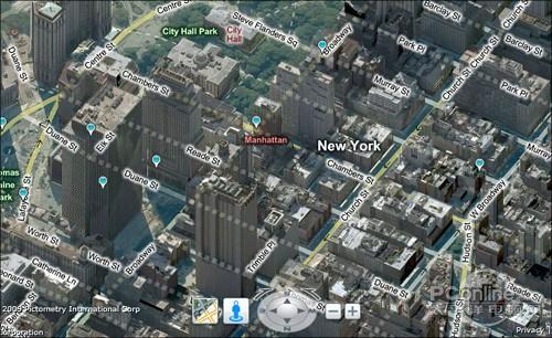 中国版谷歌街景地图
