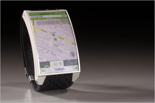 最新概念手表型手机Sidewinder惊现