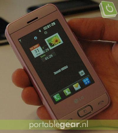 KP500续作LG新曲奇手机GS290亮相