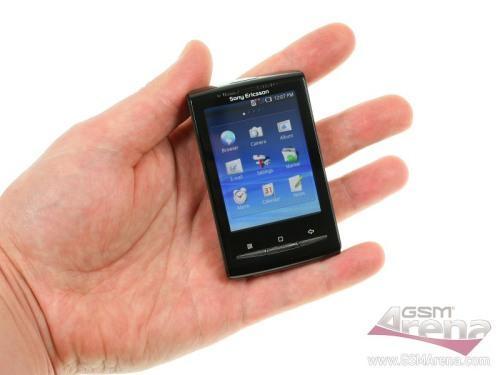 手机盛行迷你风索爱新机X10Mini评测(2)