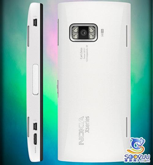 720P视频录制 诺基亚X9概念设计图曝光