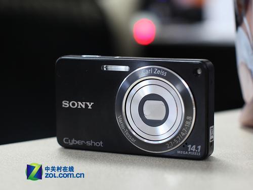 4倍光学变焦镜头索尼W350最新价1580元