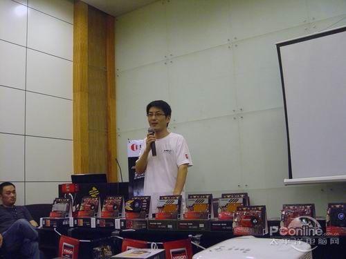 AMD河南区域省负责人徐斌先生-性能出色还省电 迪兰恒进显卡渠道培