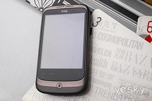 直板全触屏HTC智能机Wildfire评测