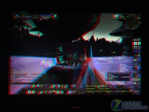 编辑自制红蓝眼镜3d版《魔兽世界:巫妖王之怒》图赏