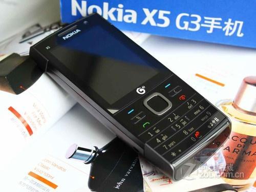 首款S60系统TD机 诺基亚X6-00售2550元