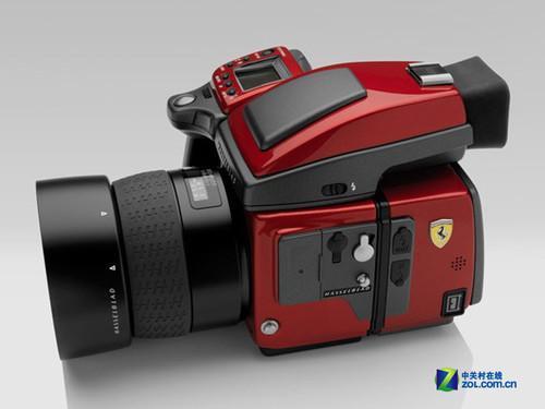 法拉利限量版相机H4D-31-全球限量100台 哈苏推出不锈钢机身H4D高清图片
