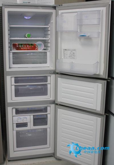 海信BCD-212VBP三门冰箱-中高端产品发展快 国产三开门冰箱推荐