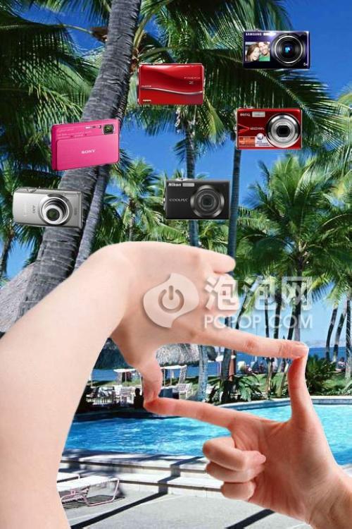 指间感受光影魅力六款触屏卡片相机推荐