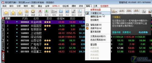 用同花顺2011个股雷达 股票交易精准快_软件