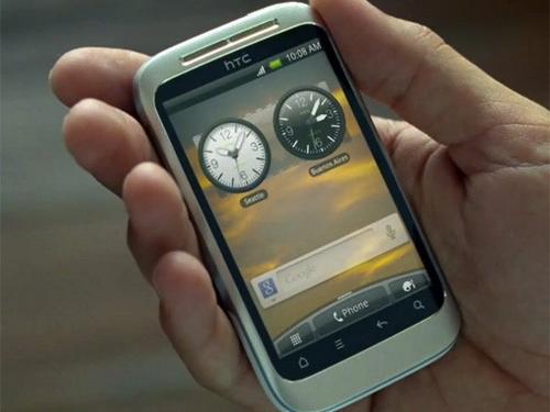 Android入门新机 HTC Wildfire 2真机照