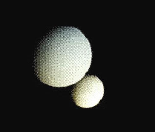 瑞士科学家称可能曾有两个月亮 小月亮撞大月亮