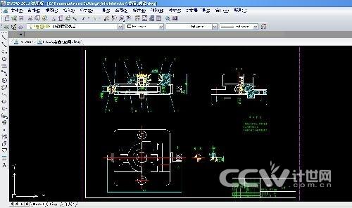 软件学园 > 正文  步骤1:   在excel表格中,将该零件的11个组成部分的图片