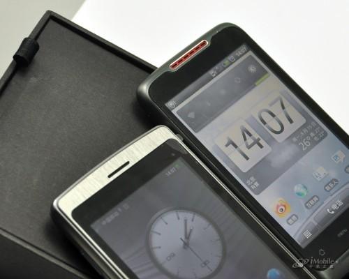 侧滑新机OPPOX903与HTCS610d对比