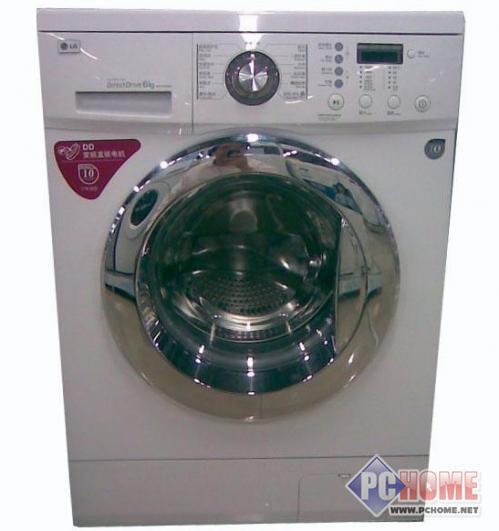 机身素美优雅LG滚桶洗衣机售2098元