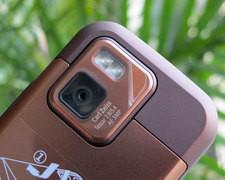 诺基亚 N97mini 棕色 摄像头图