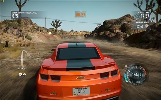《极品飞车16》小测:这还是PC游戏么?