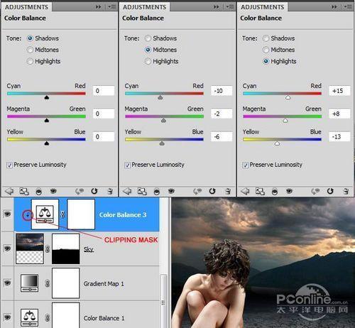 PS翻译教程:Photoshop打造性感黑夜特效