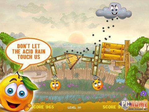 iPhone限时免费 拯救橙子卖萌大作战