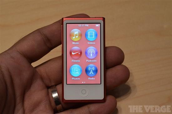 2.5英寸触控屏苹果iPodnano7试玩