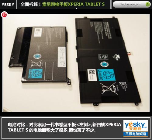 全面拆解!索尼XPERIA TABLET S新四核平板