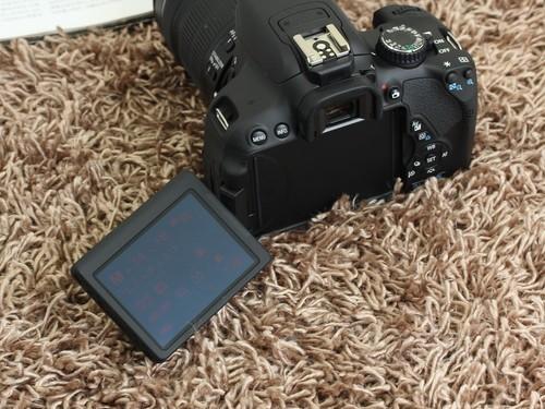 佳能 650D黑色 屏幕图