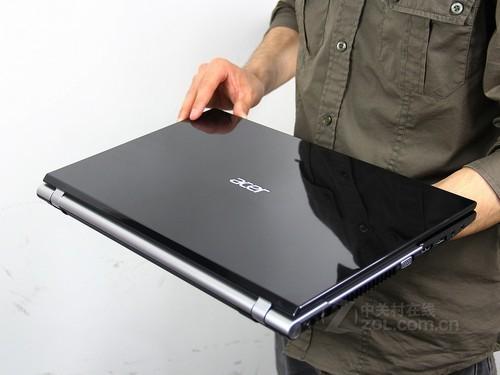 Acer V3-571G黑色 外观图