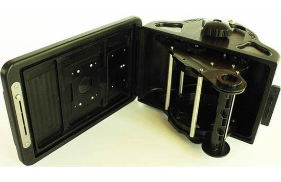 摄影师自制金属超宽幅针孔相机画角达150度