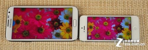 八大情景终极考核三星NoteⅡ对iPhone5