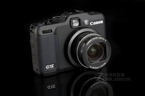 佳能 G15黑色 外观图