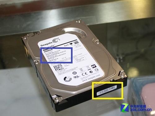 下面我们用主流的希捷新酷鱼硬盘进行举例说明