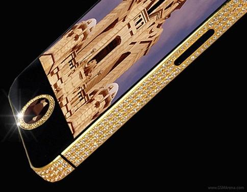 国外定制纯金镶钻iPhone5售价上千万美元