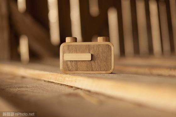 可爱的ONDU系列木质针孔相机