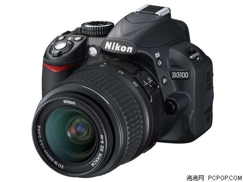 一降到底尼康单反相机D3100仅售2680