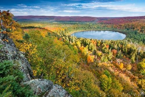 世界枫红美景 美国著名枫叶摄影景点