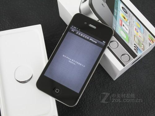 iPhone 4S 黑色 正面图