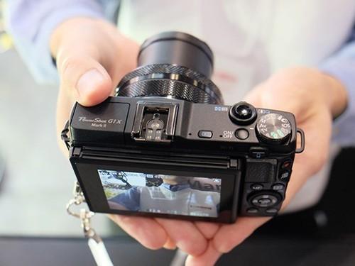 精悍漂亮 佳能G1X Mark II真机上手图曝光_数码