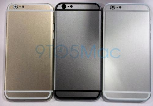 iPhone 6也有土豪金版 三版本模具曝光
