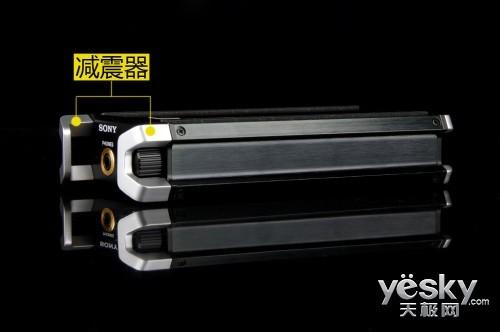 这两个突起叫做锌合金压铸减震器,用于保护保护音量旋钮和连接线的图片