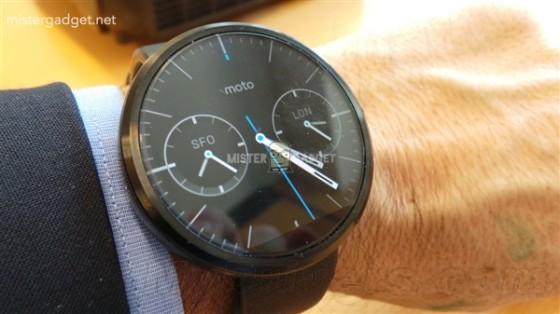 真帅!组图:这就是摩托超高逼格智能手表