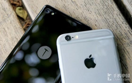 情怀与情结对话 锤子手机对比iPhone 6第5张图