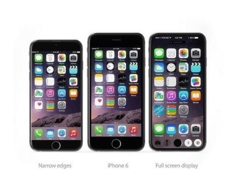 无边框屏幕iPhone 7