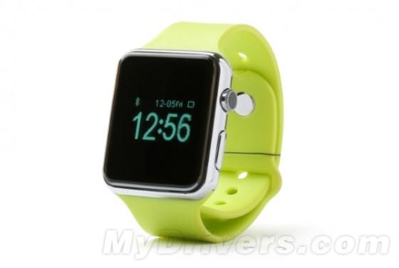 国产山寨Apple Watch现身:越看越�潘�