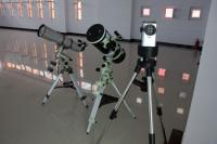 准备中的天文望远镜
