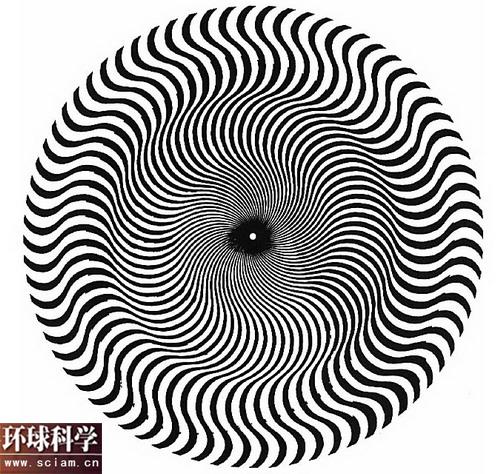 科技时代_欺骗眼睛的幻觉图形:布里奇特-赖利运动错觉